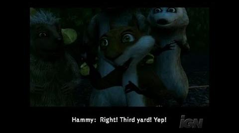 Over the Hedge GameCube Gameplay - Voice Alikes