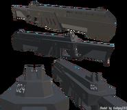 Praak Rifle Model