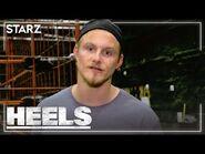 Ring Talk with Alexander Ludwig- Superkick - Heels - STARZ