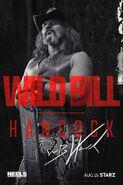 Season 1 Wild Bill Hancock Poster