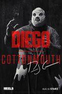 Season 1 Diego Cottonmouth Poster