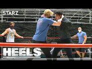 Behind the Scenes of Heels- Ace Turns Heel - STARZ