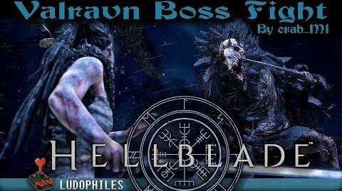 Hellblade Senua's Sacrifice - Valravn Boss Fight