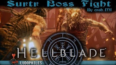 Hellblade Senua's Sacrifice - Surtr Boss Fight