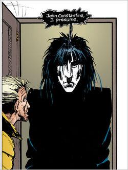 John Constantine meeting The Sandman, Dream.