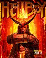 Hellboy 2019 Sword & Crown Poster