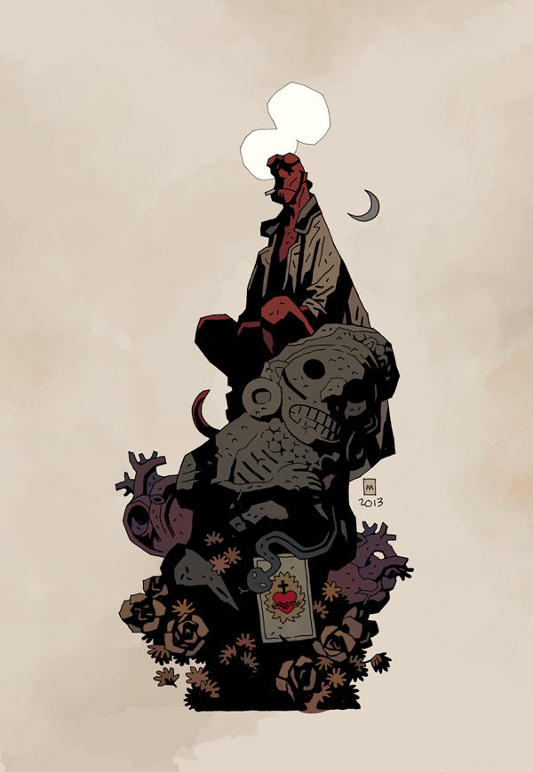 Hellboy Gets Married