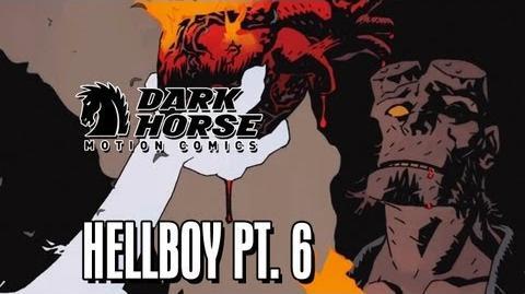 Hellboy's Heart - Dark Horse Comics Hellboy The Fury Part 6