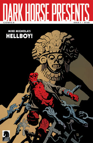 Hellboy versus the Aztec Mummy