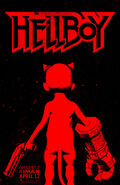 Hellboy 2019 Baby Poster