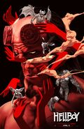 Hellboy 2019 Demon's & Pieces Poster