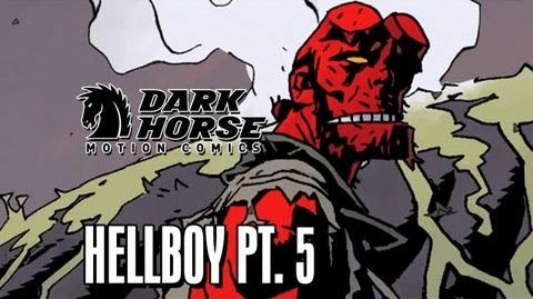 Mankind's Last Chance - Dark Horse Comics Hellboy The Fury Part 5