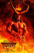 Hellboy Hellfire 2019 Poster