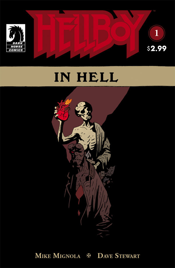 Hellboy in Hell (first story arc)