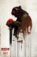 Hellboy 2019 Sword Poster