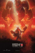Hellboy ii the golden army new york comic-con poster by drew struzan l