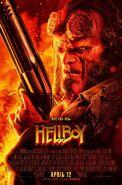 Hellboy 2019 Gun Poster