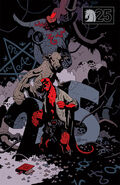 Buster Oakley Gets His Wish - Mignola cover