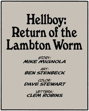 Return of the Lambton Worm