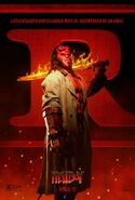 Hellboy 2019 R-rated Poster