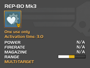 Fully upgraded REP-80