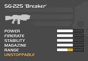 Fully upgraded SG-225 Breaker