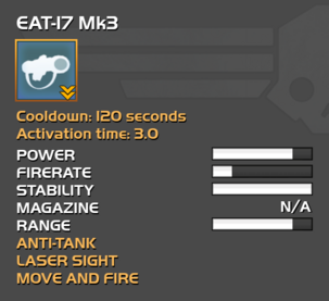 Fully upgraded EAT-17