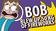 40. Bob blew up 50 kg of fireworks