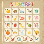 Плакат азбуки