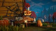 Хэллоуинское изображение из игры
