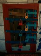 Дверь подвала из SN