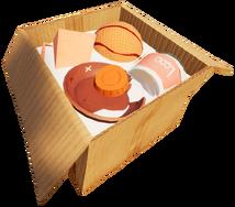 Текущая открытая коробка