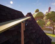 Лопата на крыше в Акте 1