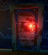 Дверь с Электронным замком 1