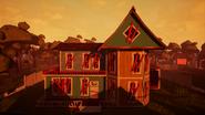 Дом Соседа из обучения Beta