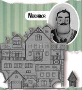 Концепт-арт дома соседа