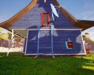 Дом Соседа из Акта 1 сбоку