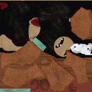 Текстура плюшегого медведа