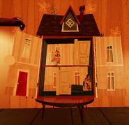 Открытый кукольный домик1