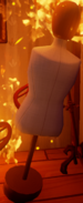 Манекен в огне