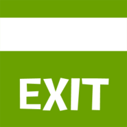 Exit sign dif