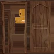 Текстура реалестичной деревянной двери