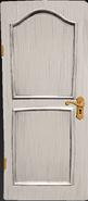 Альфа 2 реал белая дверь