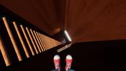 Лестница в лифте
