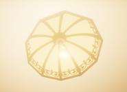 Включённаялюстра с лампочкаой