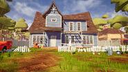 Дом соседа в актах 1-2