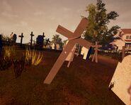 Деревянный крест, начиная с Alpha 2