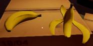 Банан и шкурка