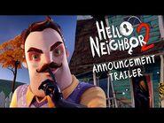 Hello Neighbor 2 Announcement Trailer - Xbox Series X, PC