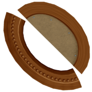 Oval picture frame 2 dif